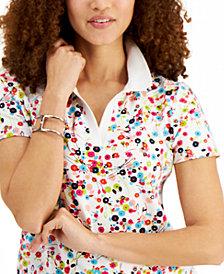 Tommy Hilfiger Printed Polo Shirt