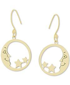 Moon & Stars Drop Earrings, Created for Macy's