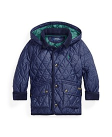 Little Boys Water Resistant Car Coat