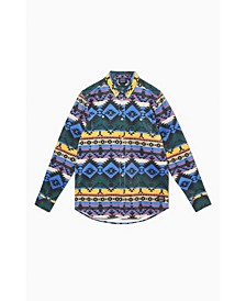 Men's Olavi Printed Corduroy Shirt