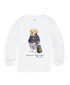 Little Boys Rugby Bear Jersey Tee