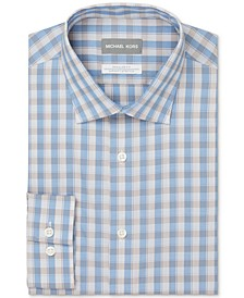 Men's Regular Fit Non-Iron Stretch Performance Dress Shirt