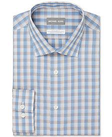 Michael Kors Men's Regular Fit Non-Iron Stretch Performance Dress Shirt