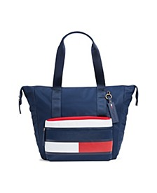 Allie Colorblock Tote