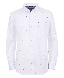 Little Boys All Over Print Shirt