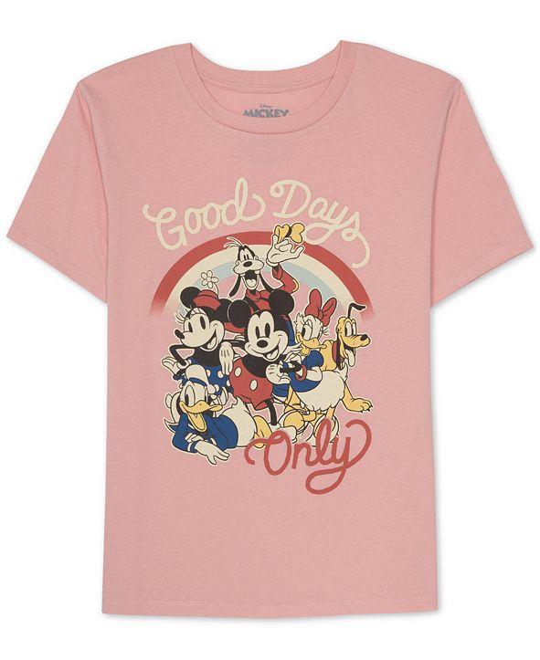 Disney Juniors Mickey & Friends Graphic Print Top