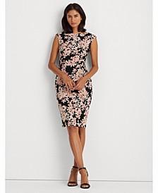 Floral Boatneck Dress