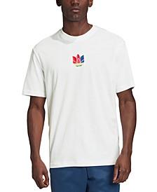 adidas Men's Originals 3D Trefoil Graphic T-Shirt