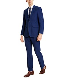 Men's Slim-Fit Blue Suit