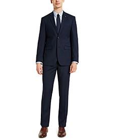 Men's Slim-Fit Blue Suit