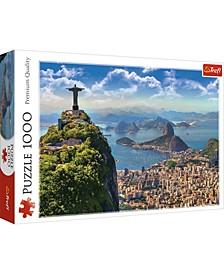 Jigsaw Puzzle Rio De Janeiro, 1000 Piece