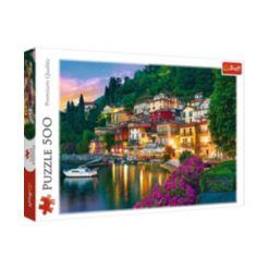 Jigsaw Puzzle Lake Como Italy, 500 Piece