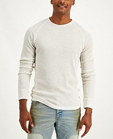 Men's Raglan Thermal Long-Sleeve T-Shirt, Created for Macy's