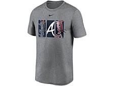 Men's Atlanta Braves Triptych Logo Legend T-Shirt