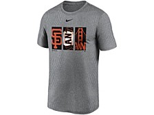Men's San Francisco Giants Triptych Logo Legend T-Shirt