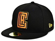 Los Angeles Clippers Round Ball 59FIFTY Cap