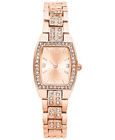 Women's Rose Gold-Tone Bracelet Watch 28mm, Created for Macy's