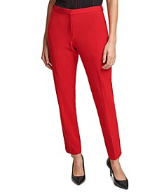 Slim-Fit Ankle Pants