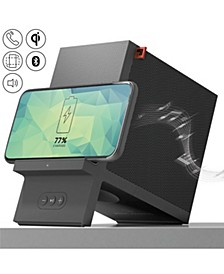 Charging Stand Wireless with Bluetooth Speaker