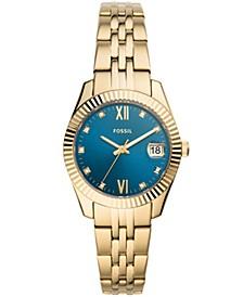 Women's Scarlette Mini Gold-Tone Bracelet Watch 32mm