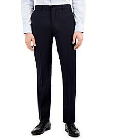 Men's Modern-Fit Blue Allover Pin Dot Suit Separate Pants