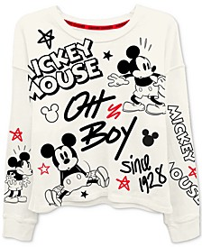Trendy Plus Size Mickey Mouse-Print T-Shirt