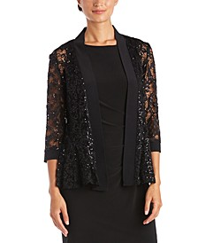 Sequin Lace Jacket