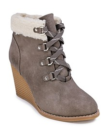 Galva Wedge Boots