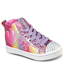 Little Girls Twinkle Toes - Twi-Lites 2.0 - Heart Gem Casual Sneakers from Finish Line