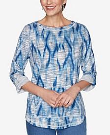 Women's Missy Ikat Pullover