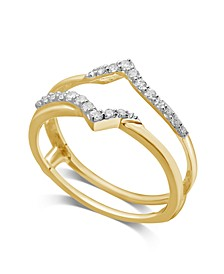 Diamond Enhancer Ring Guard (1/5 ct. t.w.) in 14K White or Yellow Gold