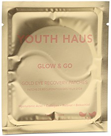Youth Haus Glow & Go Gold Eye Recovery Patches, 5-Pk.