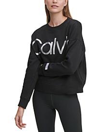 Logo Drop-Shoulder Sweatshirt