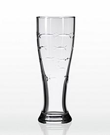 School Of Fish Beer Pilsner 16Oz- Set Of 4 Glasses
