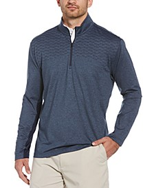 Men's Wrinkle-Resistant Quarter-Zip Jacket