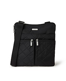 Quilted Horizon RFID Crossbody