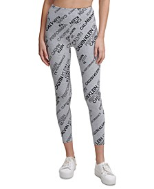 Logo Mix Print Leggings
