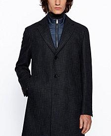 BOSS Men's Nadim4 Slim-Fit Blazer Coat
