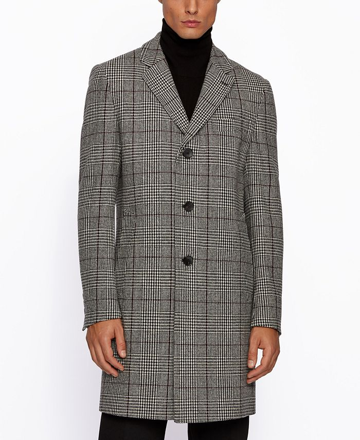 Hugo Boss - Men's Nye2 Slim-Fit Blazer Coat