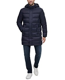 Men's Long Hooded Puffer Jacket