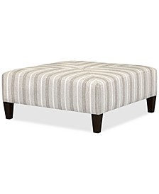 Jemanie Fabric Cocktail Bench, Created for Macy's
