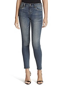 Women's Kiss Me Ankle Skinny Jeans