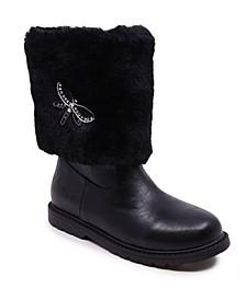 Toddler Girls Side Zipper Dressy Boot