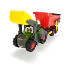 """Dickie Toys Happy Fendt 25"""" Farm Truck and Trailer"""