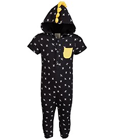 Baby Boys Printed Jumpsuit, Created for Macy's
