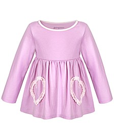 Baby Girls Ruched Heart Tunic, Created for Macy's