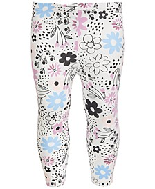 Toddler Girls Spotty Floral Leggings, Created for Macy's