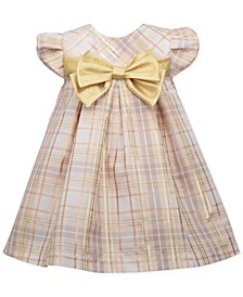Baby Girls Plaid Trapeze Party Dress