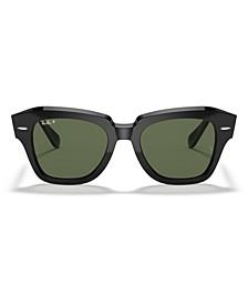 State Street Polarized Sunglasses, RB2186 49