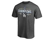 Men's Los Angeles Dodgers World Series Locker Room T-Shirt